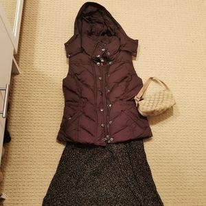Esprit Vest Chocolate Color